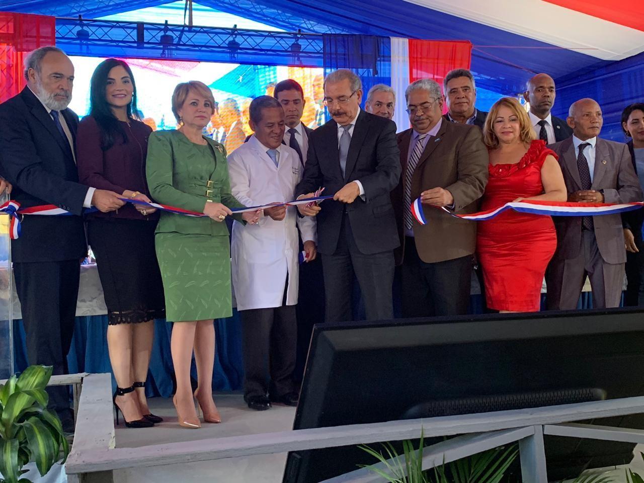 INAUGURACIÓN HOSPITAL REGIONAL ALEJANDRO CABRAL EN SAN JUAN DE LA MAGUANA
