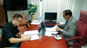Firma de Acuerdos entre el Servicio Regional de Salud El Valle y la Organización Good Neighbors de Corea