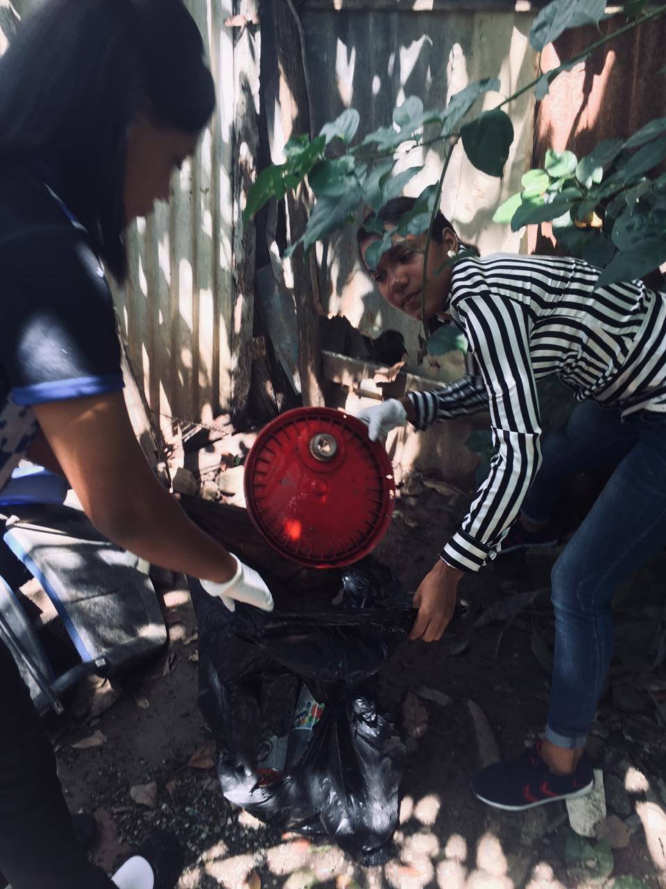 El Servicio Regional de Salud El Valle realiza Jornada contra el Dengue.