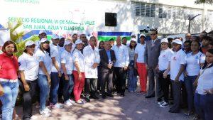 El SRS El Valle, realiza jornada de donación de sangre voluntaria