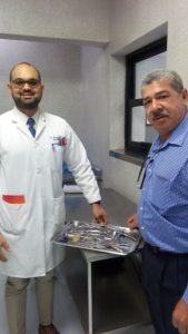 El SRS El Valle, Entrega Bandeja de Cirugía al Hospital Dr. Alejandro Cabral