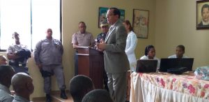Regional de Salud El Valle Realiza Jornada de Tamizaje y Vacunación en Policía Nacional Regional Oeste (San Juan)