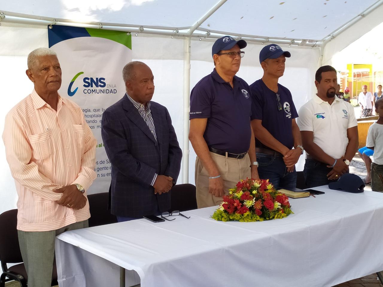 Desde Hondo Valle El Servicio Regional de Salud El Valle lanzó la estrategia el SNS en Tu Comunidad.