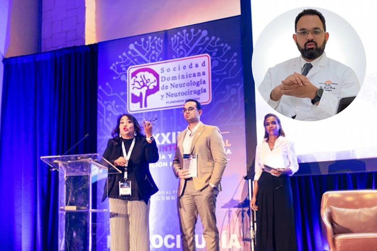 Es médico en hospital Alejandro Cabral, neurocirujano que presentó primer telescopio quirúrgico en el país